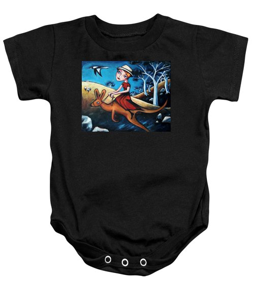 The Journey Woman Baby Onesie by Leanne Wilkes