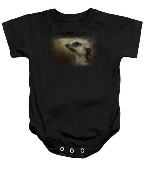 The Meerkat Baby Onesie by Jai Johnson
