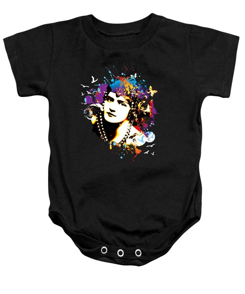Victorian Temptation Baby Onesie by Chris Andruskiewicz