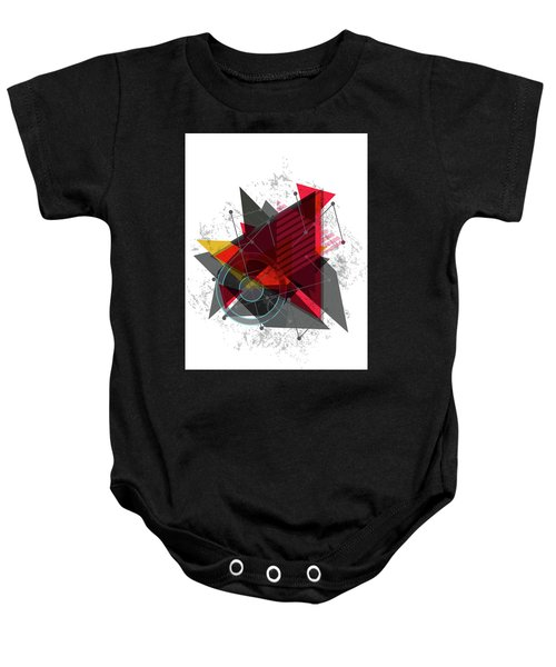 Why Me Baby Onesie by Don Kuing