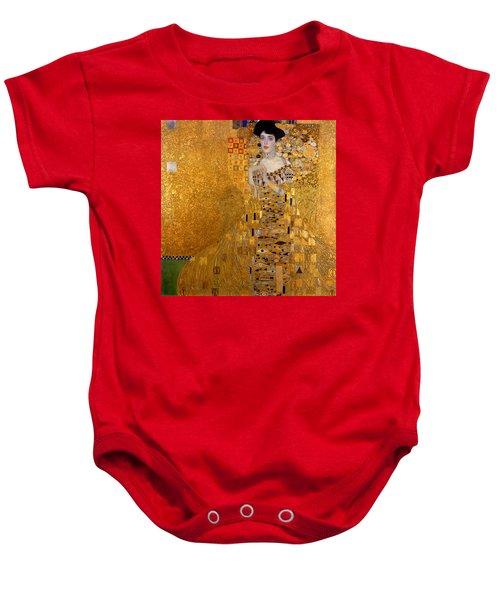Adele Bloch Bauers Portrait Baby Onesie by Gustive Klimt