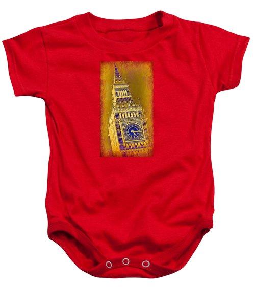 Big Ben 3 Baby Onesie by Stephen Stookey