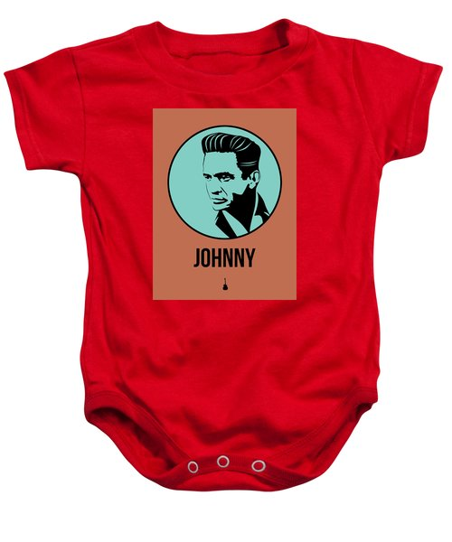 Johnny Poster 1 Baby Onesie by Naxart Studio