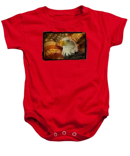 American Icons Baby Onesie by Susan Candelario