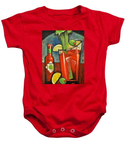 Bloody Mary Baby Onesie by Tim Nyberg