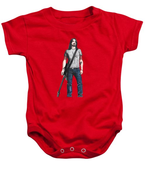 Extraordinary Hero Cutout Baby Onesie by Steven Hart