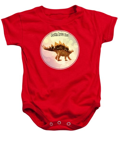 Gotta Love Me Baby Onesie by Art OLena
