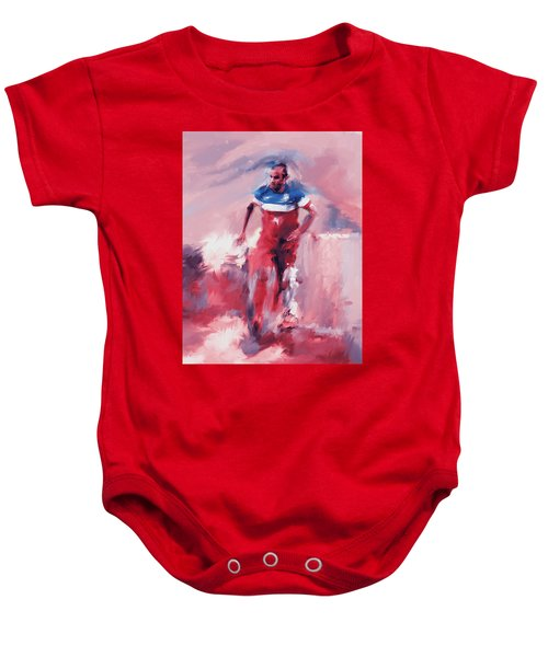 Landon Donovan 545 2 Baby Onesie by Mawra Tahreem