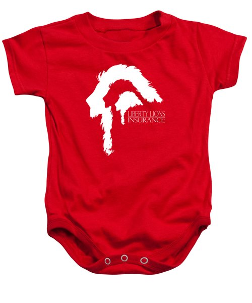 Liberty Lions Logo Baby Onesie by Ryan Anderson