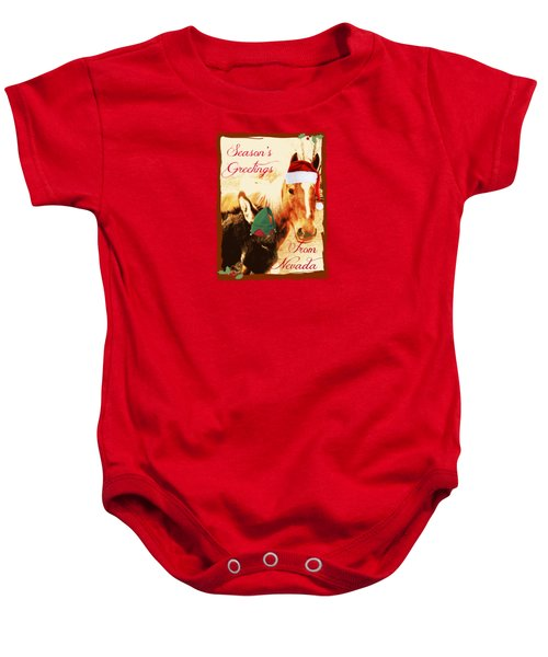 Nevada Greetings Baby Onesie by Bobbee Rickard