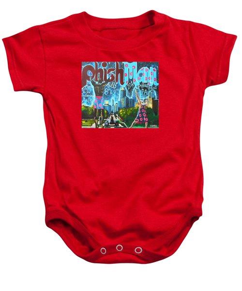 Phishmann Baby Onesie by Kevin J Cooper Artwork