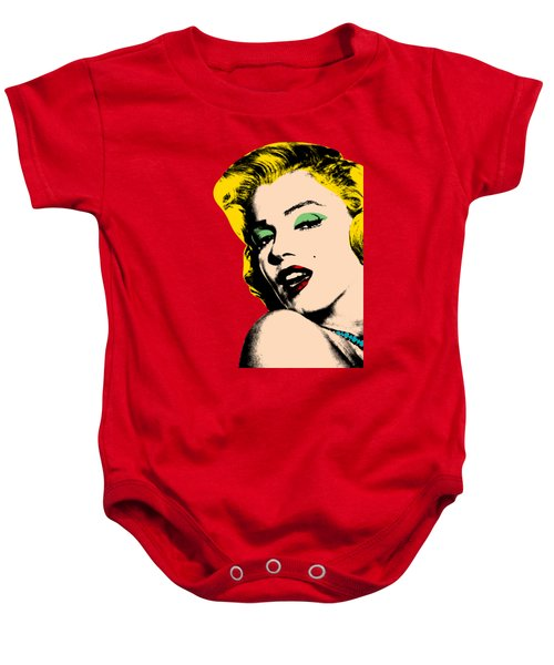 Pop Art Baby Onesie by Mark Ashkenazi