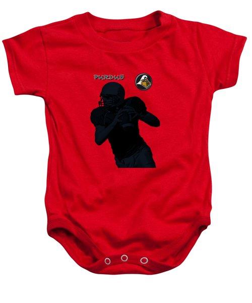 Purdue Football Baby Onesie by David Dehner