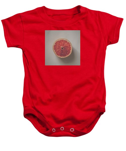 Red Inside Baby Onesie by Kate Morton