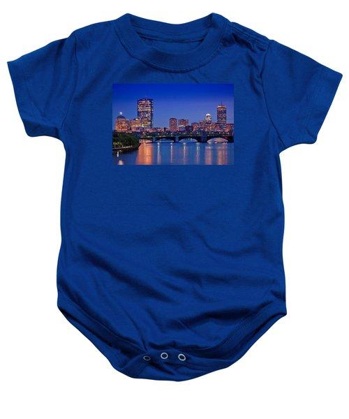 Boston Nights 2 Baby Onesie by Joann Vitali