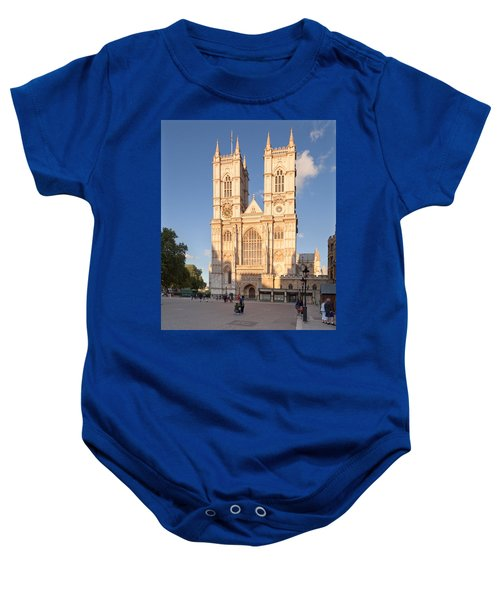 Facade Of A Cathedral, Westminster Baby Onesie by Panoramic Images