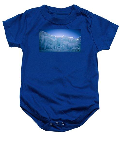 Ice Castle Baby Onesie by Edward Fielding