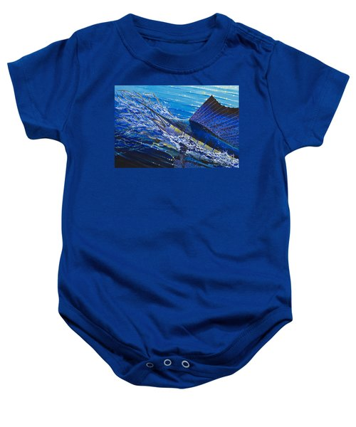 Sail On The Reef Off0082 Baby Onesie by Carey Chen