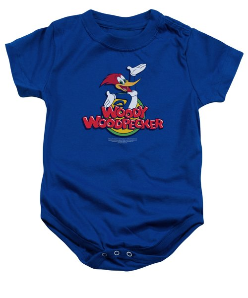 Woody Woodpecker - Woody Baby Onesie by Brand A
