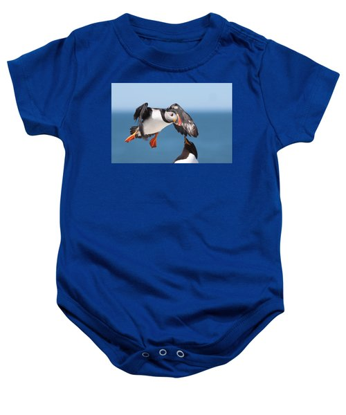 Incoming  Baby Onesie by Bruce J Robinson
