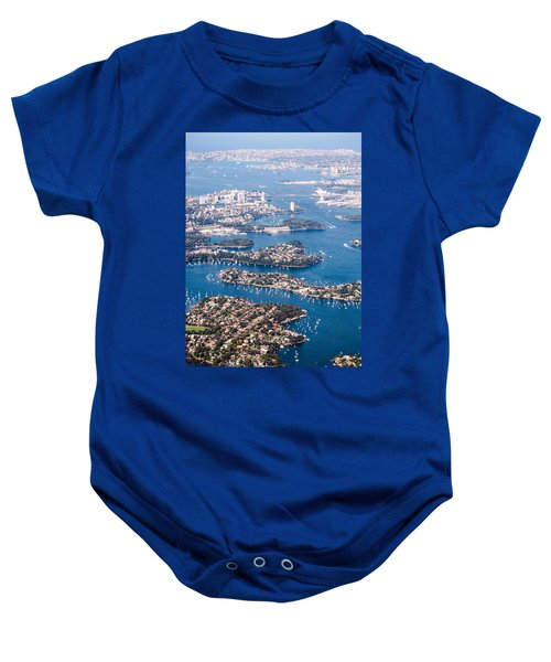 Sydney Vibes Baby Onesie by Parker Cunningham