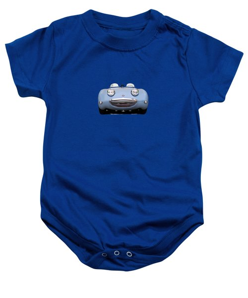 Austin Healey Sprite Baby Onesie by Mark Rogan