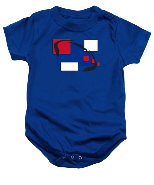 Bills Abstract Shirt Baby Onesie by Joe Hamilton