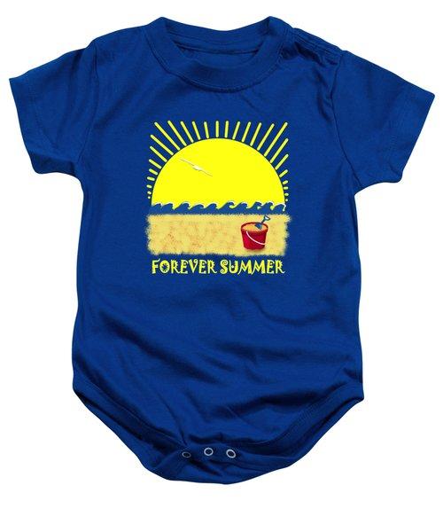 Forever Summer 8 Baby Onesie by Linda Lees