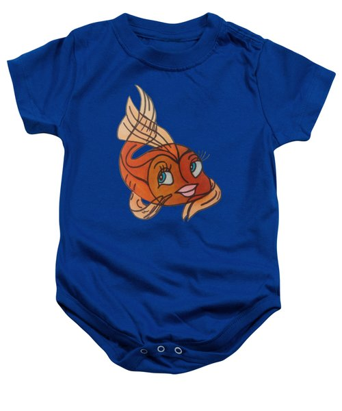Goldie Baby Onesie by Darci Smith