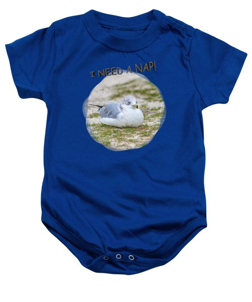 Gull Nap Time Baby Onesie by John M Bailey