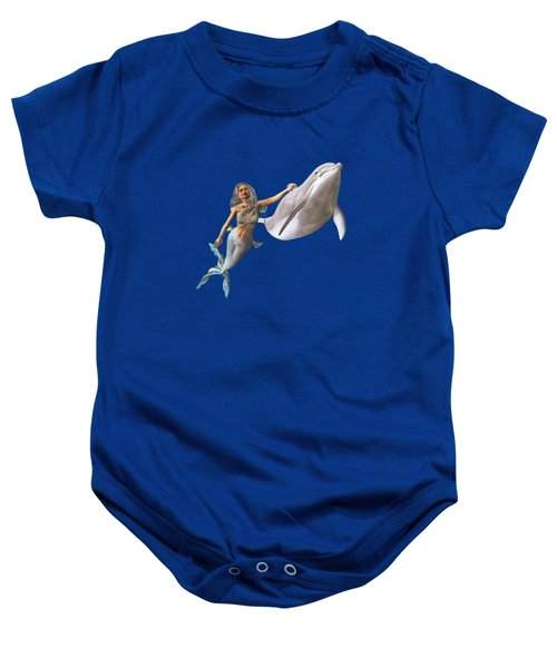 Hitching A Ride Baby Onesie by Methune Hively