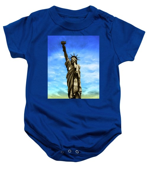 Liberty 2016 Baby Onesie by Kd Neeley