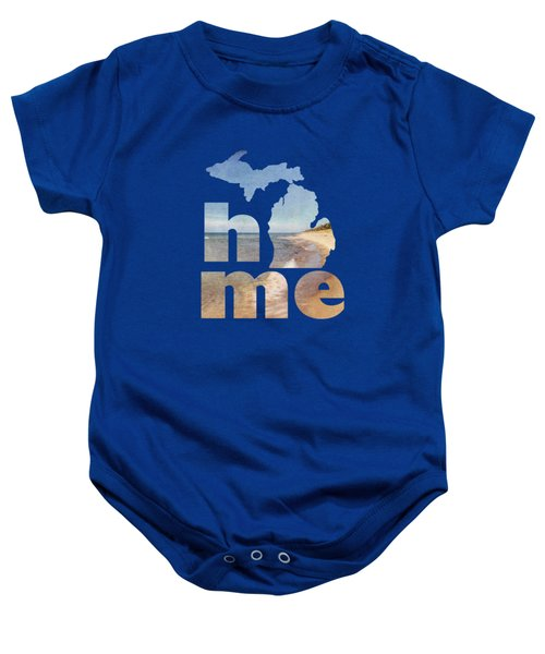 Michigan Home Baby Onesie by Emily Kay