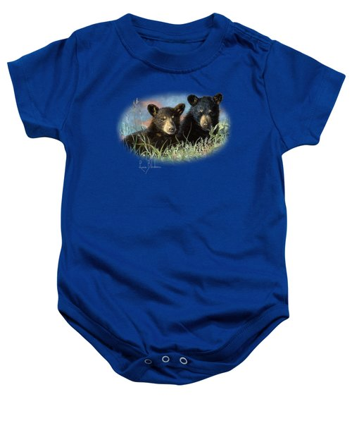 Playmates Baby Onesie by Lucie Bilodeau