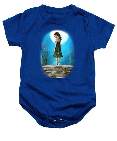 Pond Of Dreams Baby Onesie by Brandy Thomas