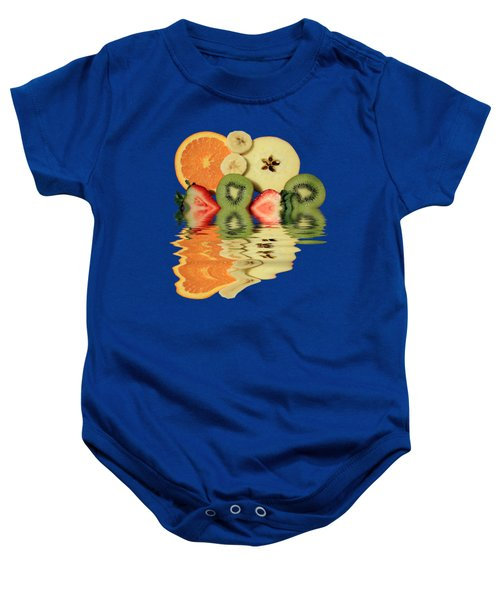 Split Reflections Baby Onesie by Shane Bechler