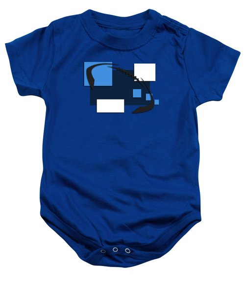Tennessee Titans Abstract Shirt Baby Onesie by Joe Hamilton