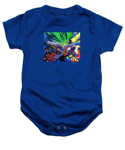 Trey Anastasio 4 Baby Onesie by Kevin J Cooper Artwork