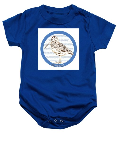 Woodcock Baby Onesie by Greg Joens