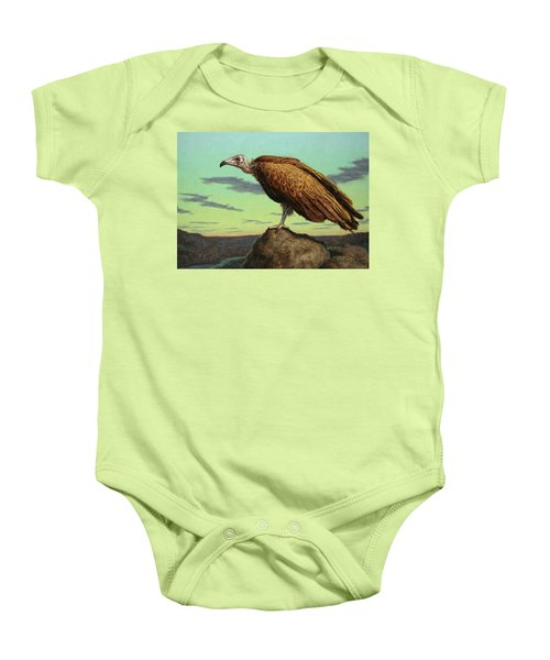Buzzard Rock Baby Onesie by James W Johnson