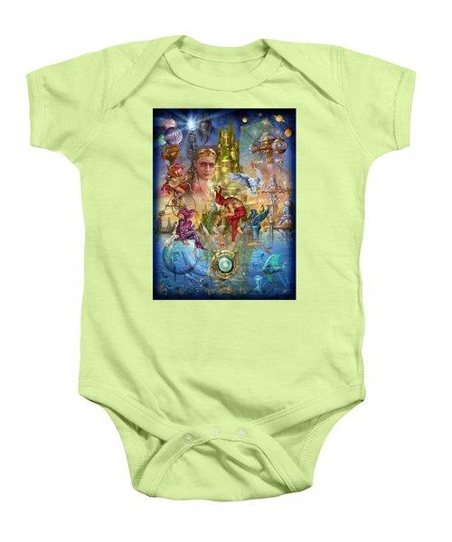 Fantasy Island Baby Onesie by Ciro Marchetti