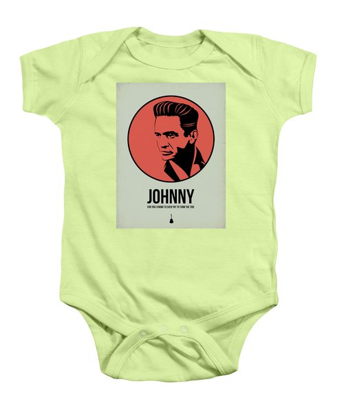 Johnny Poster 2 Baby Onesie by Naxart Studio