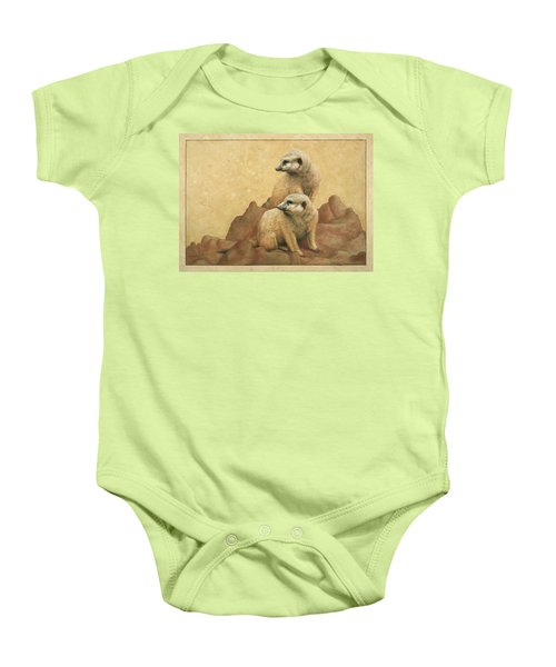 Lookouts Baby Onesie by James W Johnson