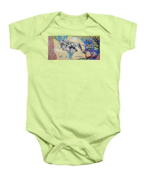 Minotaur Baby Onesie by Derrick Higgins