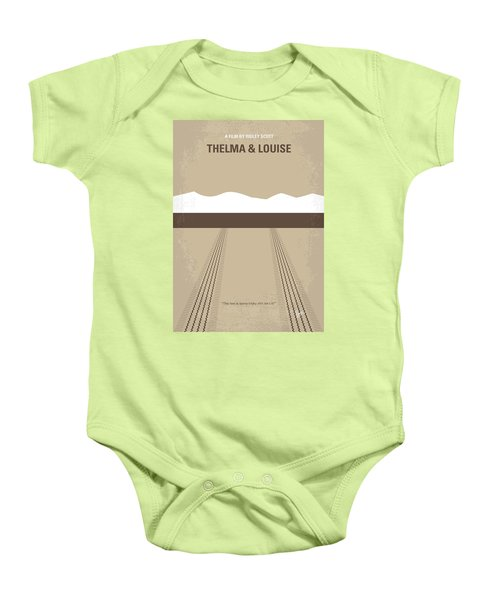 No189 My Thelma And Louise Minimal Movie Poster Baby Onesie by Chungkong Art