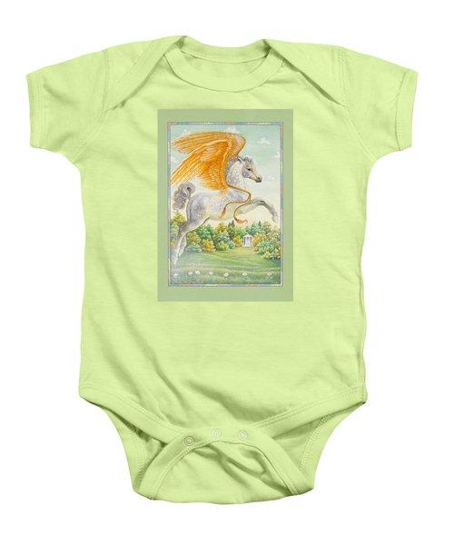 Pegasus Baby Onesie by Lynn Bywaters