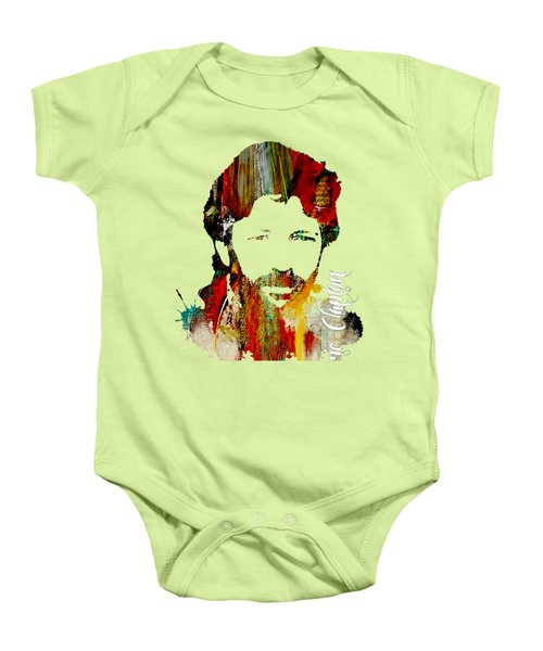 Eric Clapton Collection Baby Onesie by Marvin Blaine
