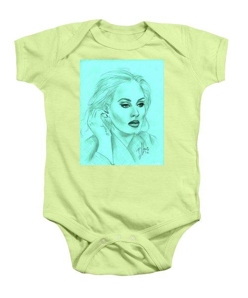 Adele Baby Onesie by P J Lewis