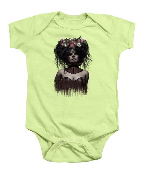 La Catrina Baby Onesie by Shanina Conway