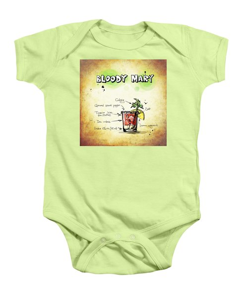 Bloody Mary Baby Onesie by Movie Poster Prints